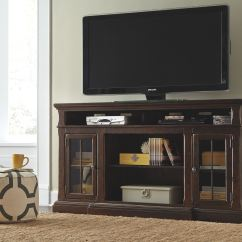 Home Entertainment Fireplace Living Room Furniture Interior Design Leather Sofa Signature By Ashley Xl Tv Stand W Option