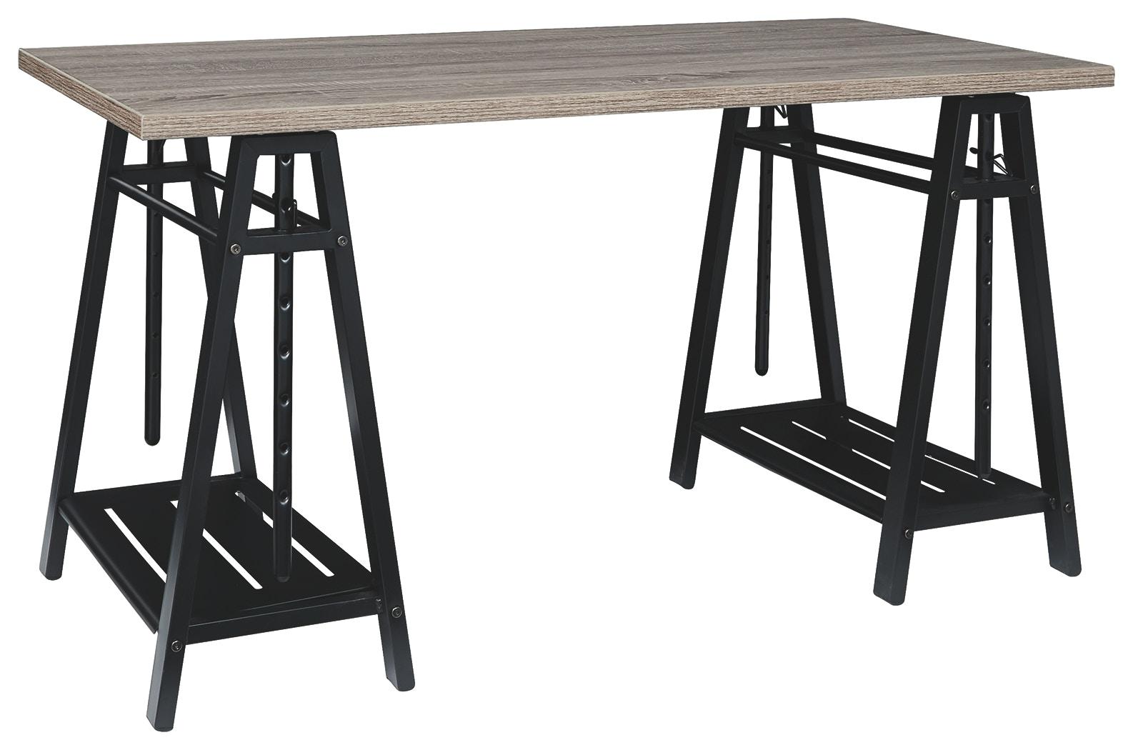 Signature Design By Ashley Home Office Irene Adjustable Height Desk Z1430261 Turner Furniture