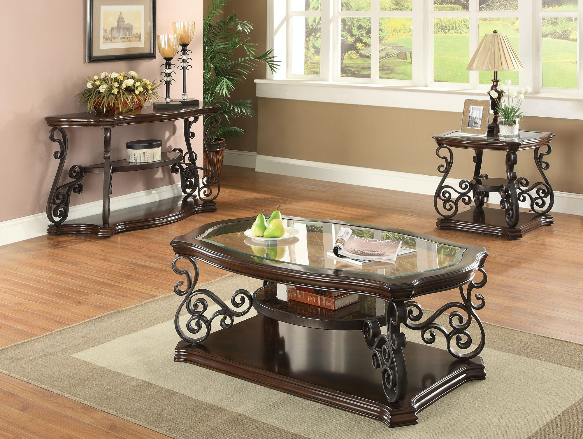 how to make a sofa table top microfiber sectional with pull out bed coaster living room 702449 haynes brothers volusia county