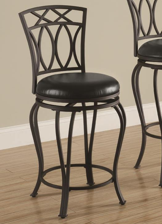 chair plus stool contemporary leather coaster bar and game room counter height 122059 furniture