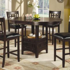 Bar Height Desk Chairs High Back Lawn Chair Cushions Coaster And Game Room Counter Table 102888