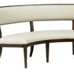 Hickory Chair Banquette Wingback Dining Fine Furniture Design Room Vera 1560 505