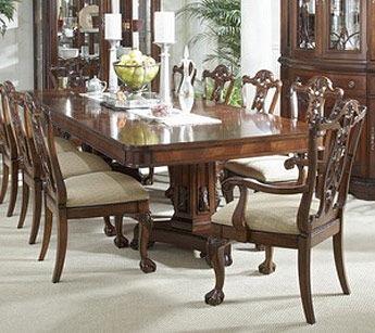 Fine Furniture Design Dining Room Double Pedestal Dining