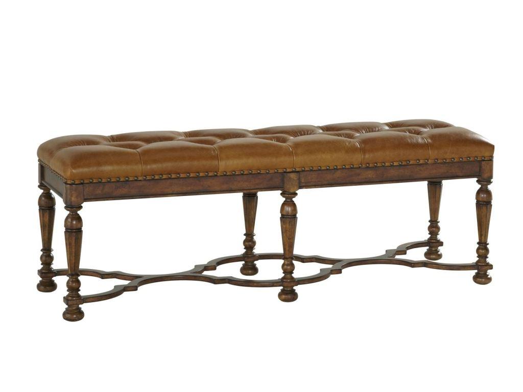 Fine Furniture Design Bedroom Tufted Bed Bench 1345 500