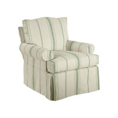 Swivel Chair Dimensions Karlstad Cover Isunda Gray Kincaid Furniture Living Room Slipcover 125 94 Emw At Carpets
