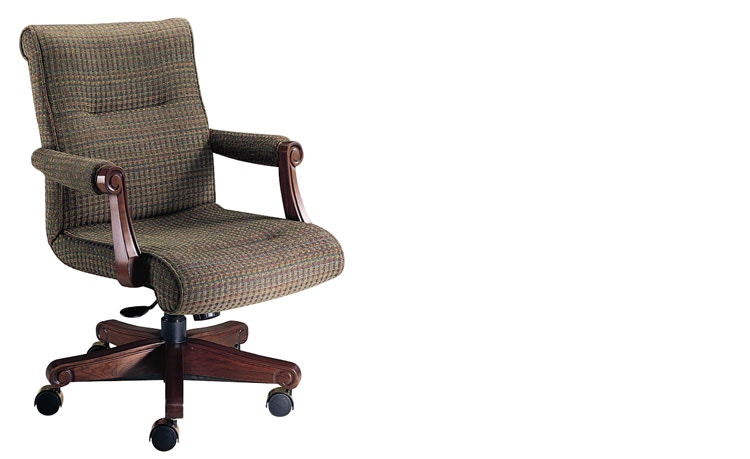 ergonomic chair home palecek dining chairs harden furniture office mid back 1702 at staiano s