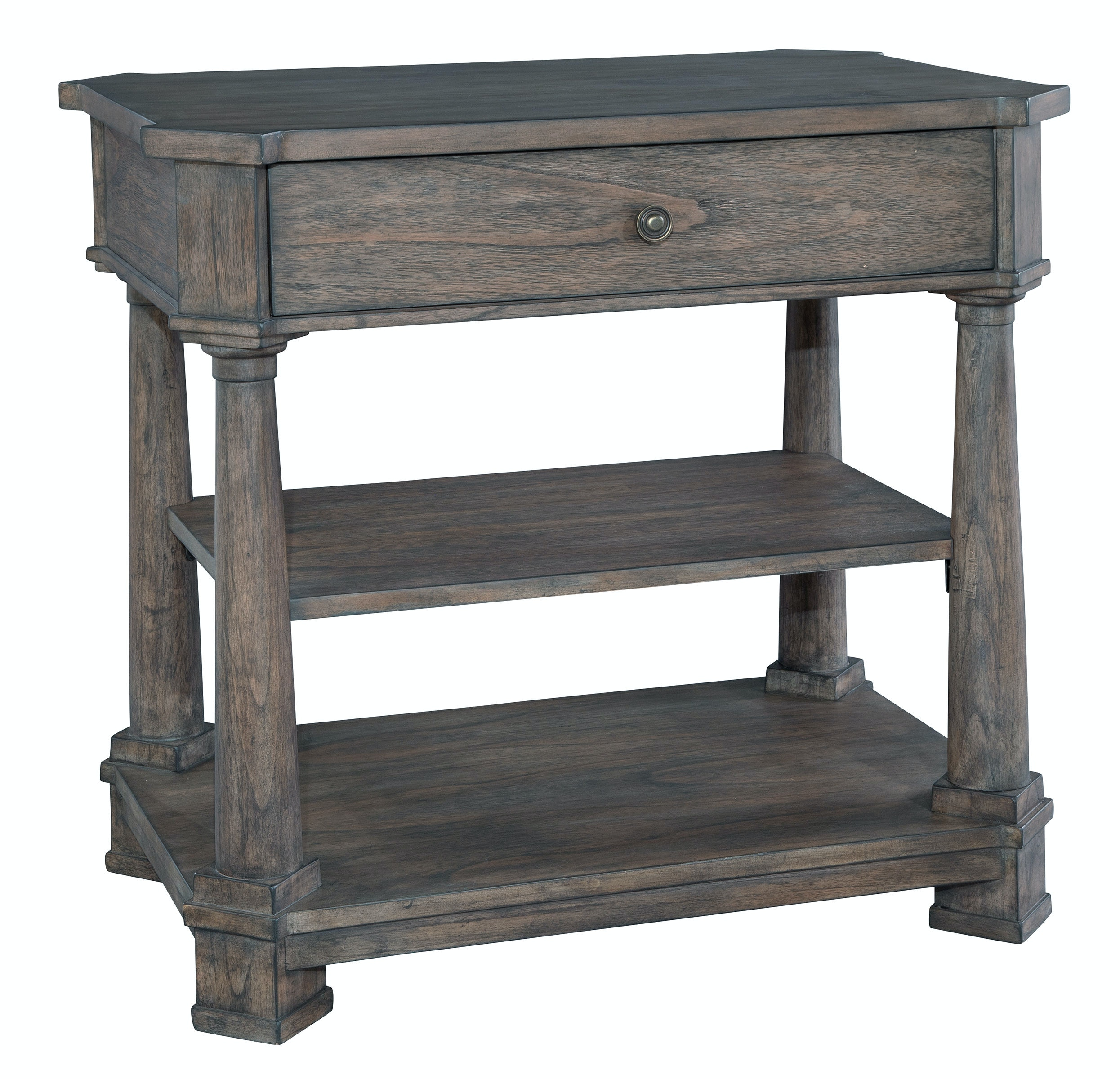 hickory chair bedside tables best rocking chairs for nursery hekman bedroom single drawer table 23564