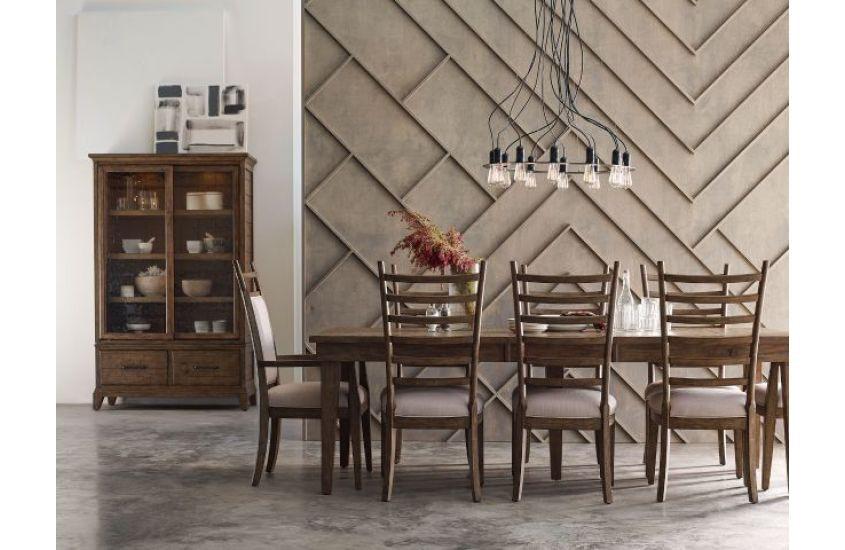 Kincaid Furniture Dining Room Rankin Rectangular Leg Table