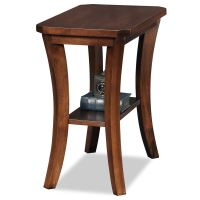 Leick Furniture Living Room Narrow Chair side Table - Boa ...