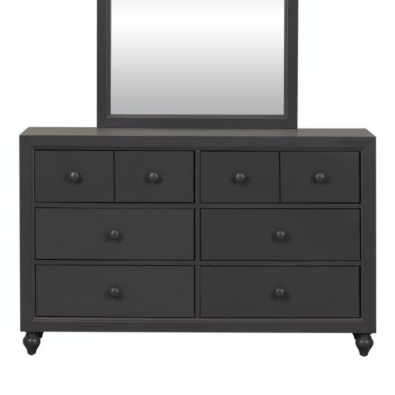 Liberty Furniture Bedroom 6 Drawer Dresser 423 Br30 Stacy Furniture Grapevine Allen And