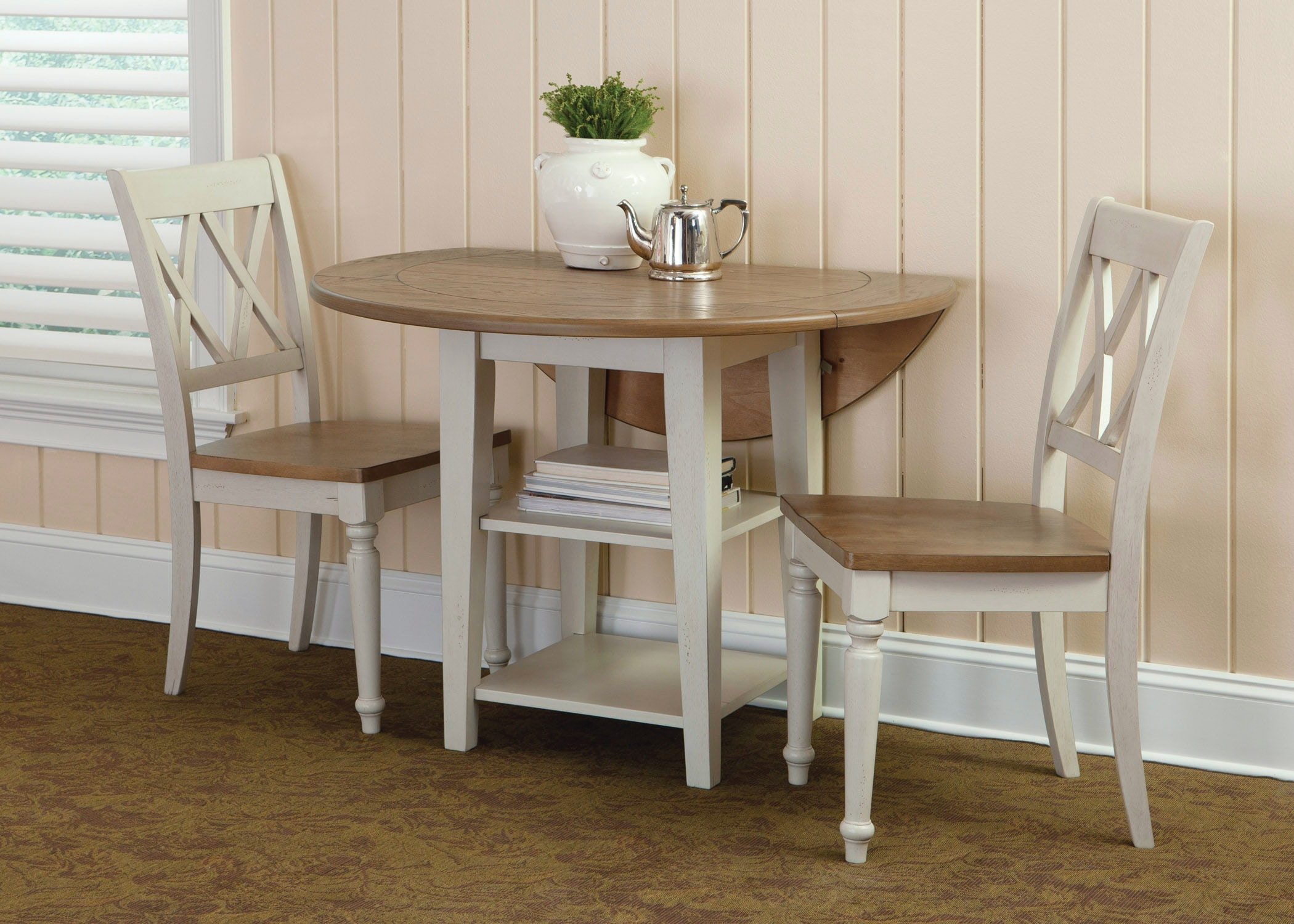 al s chairs and tables chair cover rental party liberty furniture dining room opt 3 piece drop leaf table