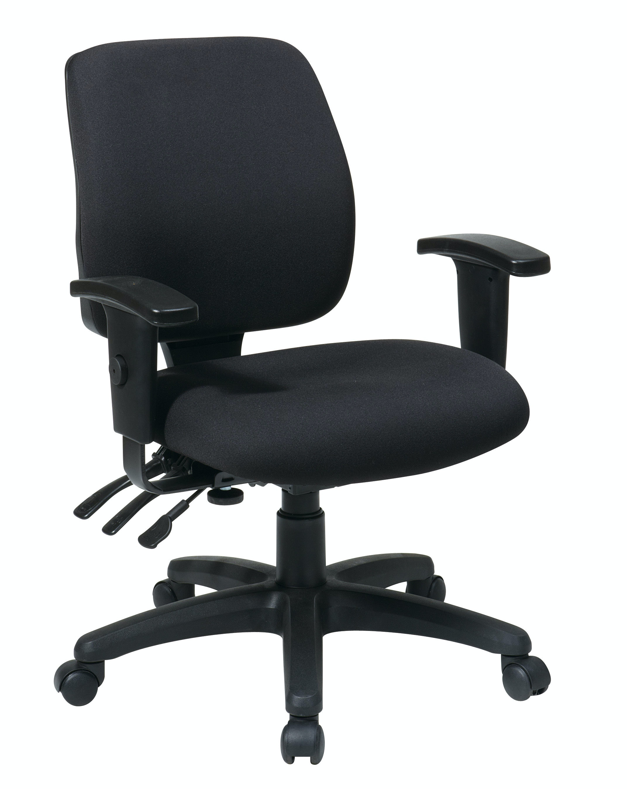 ergonomic chair home z line executive with contour seat and lumbar support office star products mid back dual function