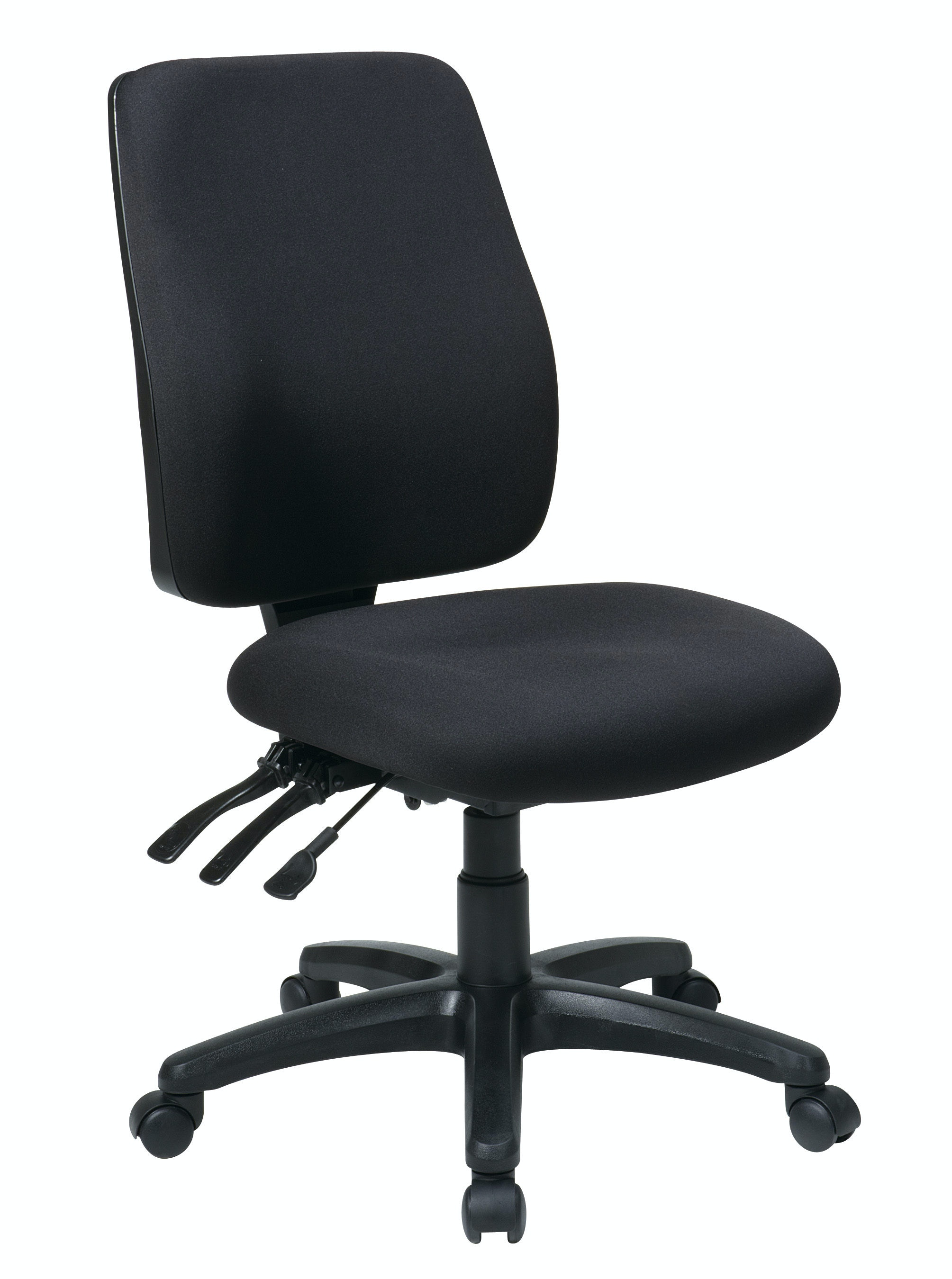 ergonomic chair without arms lazy boy gaming uk office star products home high back dual function 33340 30