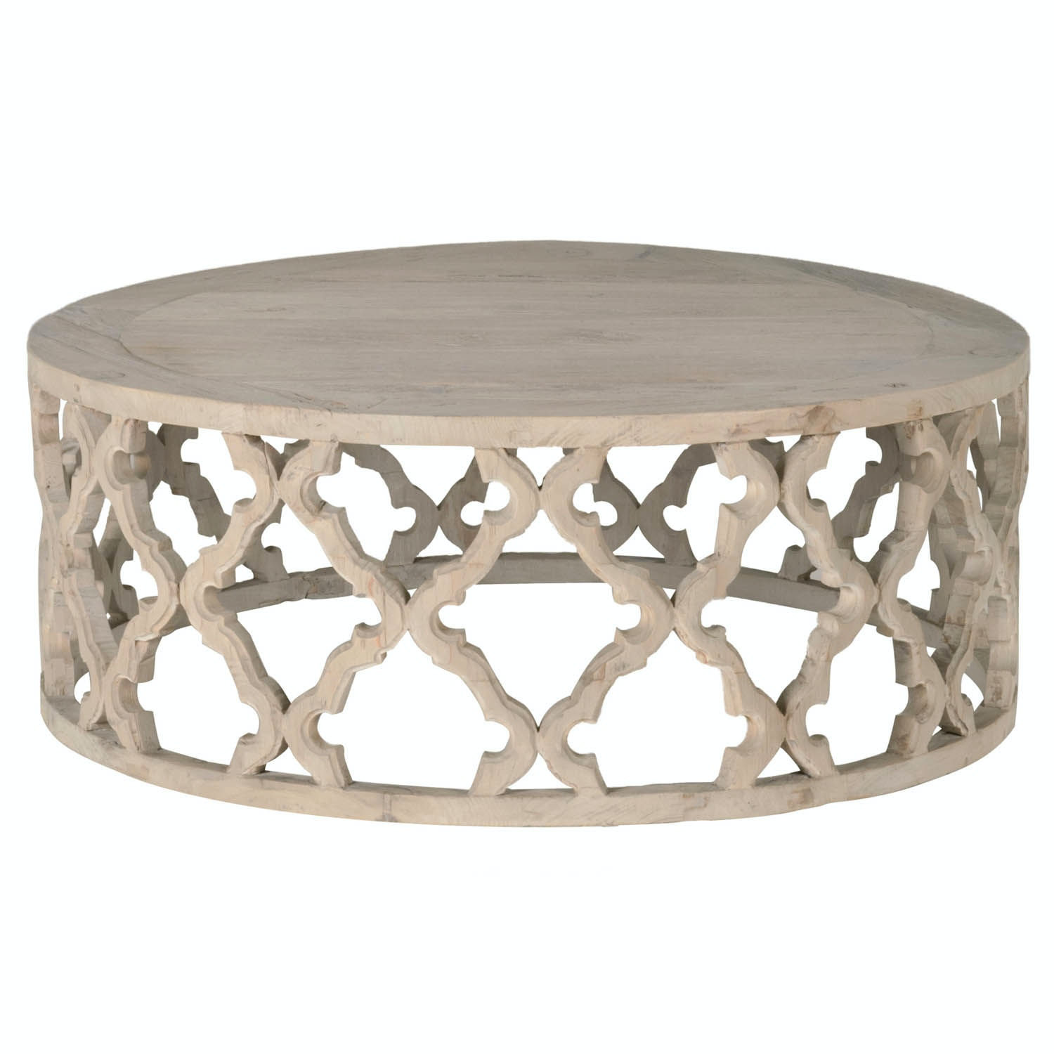 Clover Large Coffee Table Esl8027lsgryelm