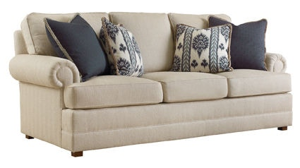 henredon sofa fabrics faux leather queen sleeper living room fireside h2000 c today 39s home