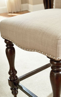 upholstered counter height chair hanging pod standard furniture bar and game room stool 17737