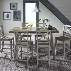 Drafting Chairs Metal Patio With Cushions Standard Furniture Dining Room Leg Table And 4 12862 - Charter Dallas, Fort ...