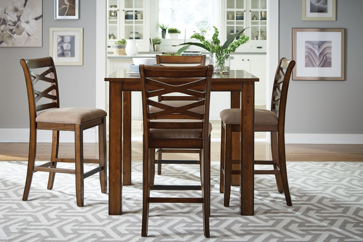 Standard Dining Chair Height Standard Furniture Dining Room Counter Height Table With 4