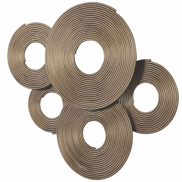 Uttermost Accessories Ahmet Gold Rings Wall Decor 04201