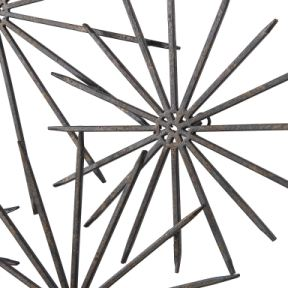 Uttermost Accessories Nixie Metal Wall Decor 04208 Von
