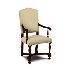 Hickory Chair Louis Xvi Camp With Table Dining Room Palermo Arm 8700 01 Von Hemert