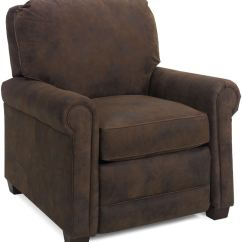 Murphy Chair Company Vintage Chairs For Sale Temple Living Room Dakota Leather Recliner 107le Eller