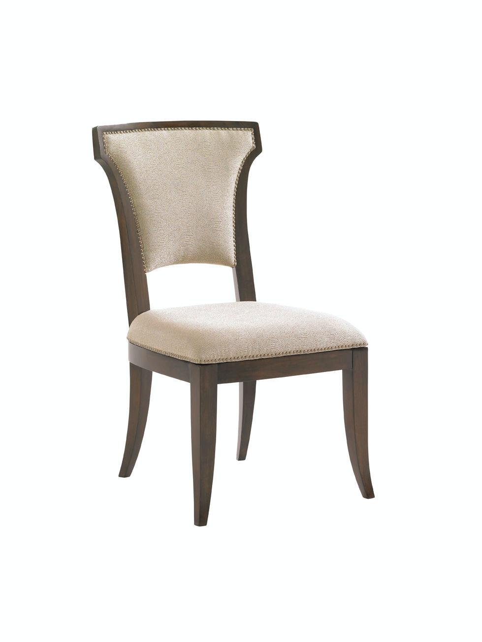 lexington dining chairs black salon room seneca upholstered side chair 706