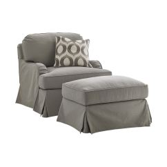 Swivel Chair Covers Big And Tall Office Chairs Canada Lexington Living Room Stowe Slipcover 7476