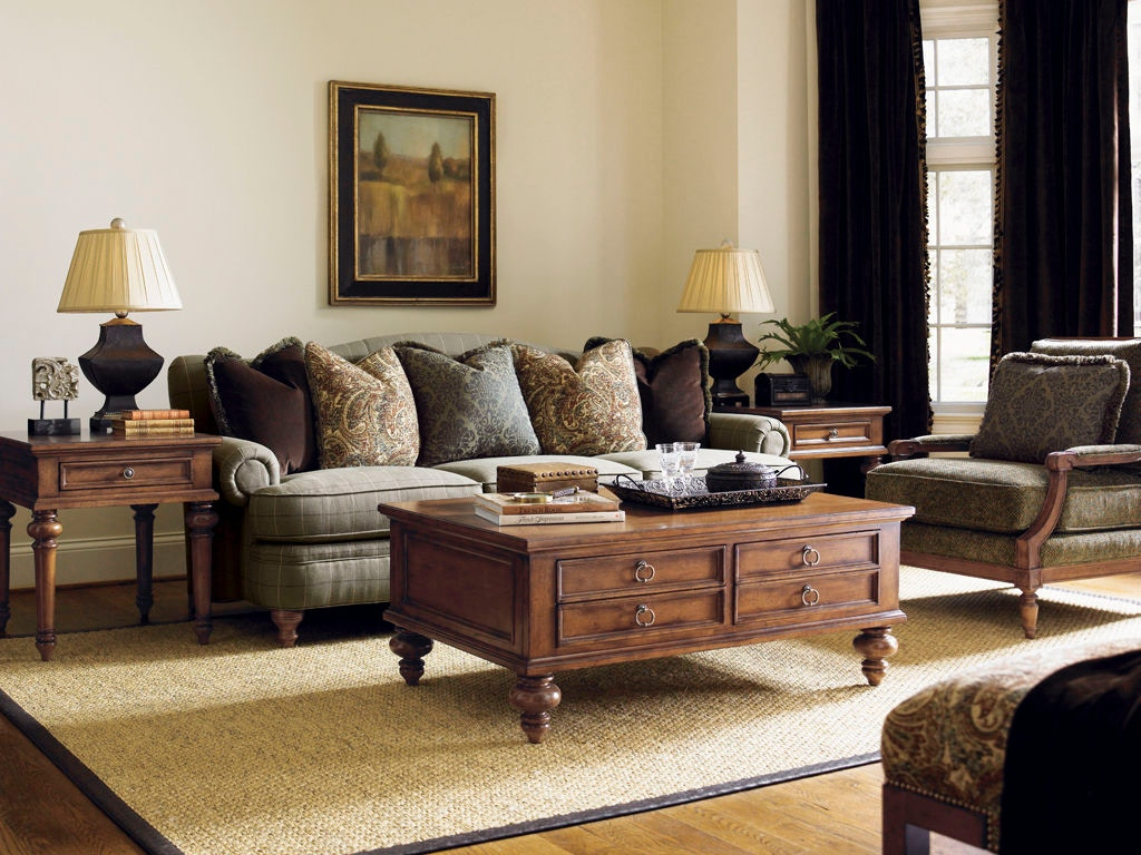 ashford sofa boston interiors bassett hudson lexington living room tight back 7603 33