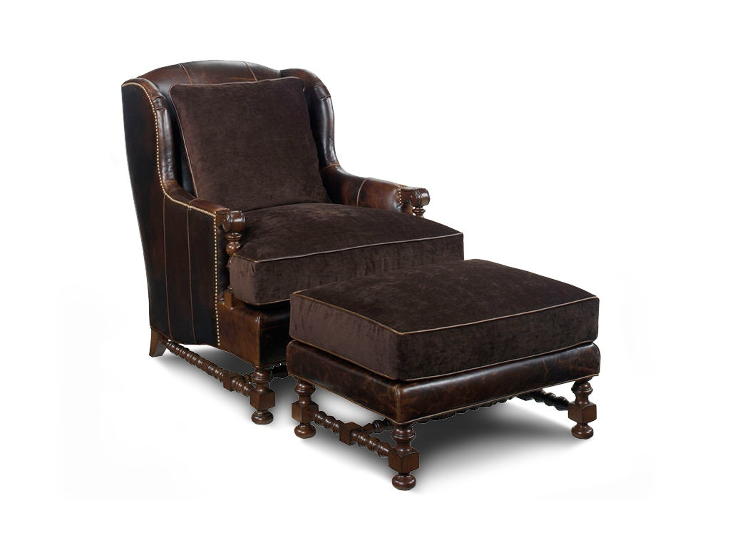 wing chairs for living room chair car service lexington bradbury leather ll1538 11 at habegger furniture inc