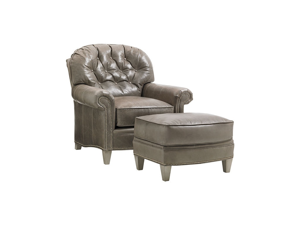 thomasville leather chair best ball lexington living room bayville ll7935 11