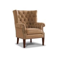 Thomasville Leather Chair Banquet Covers For Sale In Canada Lexington Living Room Suffolk Tufted Back