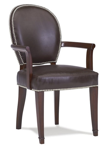 hickory chair louis xvi swivel height extender dining room arm 3105 11