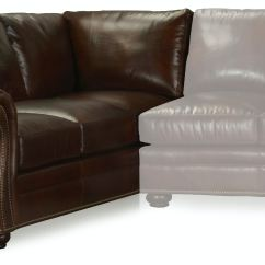 Left Arm Return Sofa Chelsea Leather Sofas For Sale Bradington Young Sterling Laf Corner 8 Way Tie
