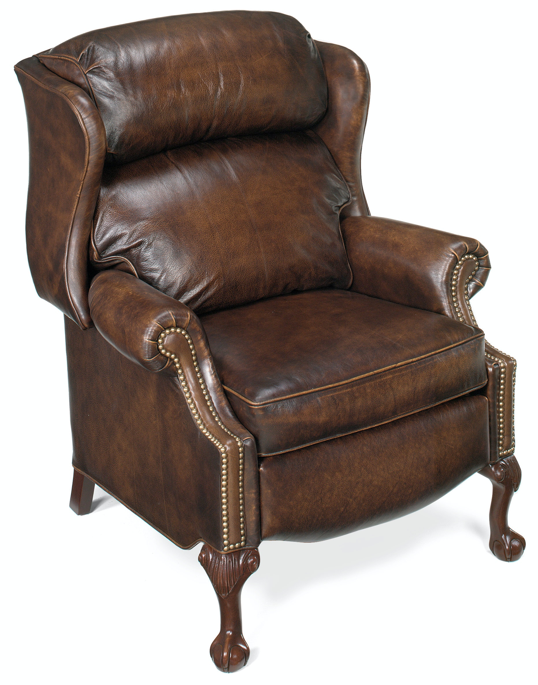 wing chair recliner canada office under 3000 bradington young living room maxwell ball and claw reclining 4115