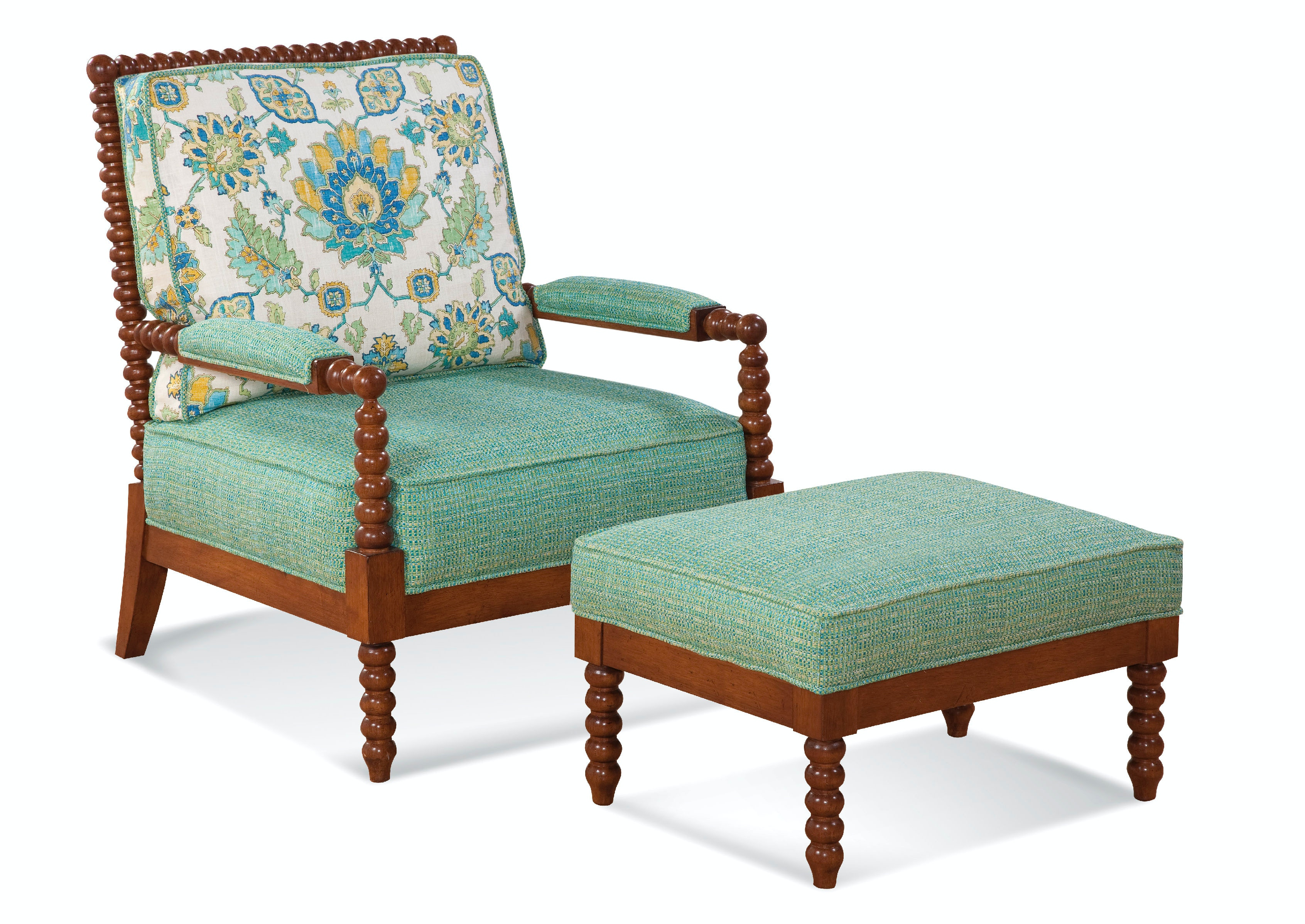 turquoise lounge chair high back chairs with arms braxton culler living room lind island and ottoman 1046 co set
