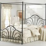 Hillsdale Furniture Bedroom Dover Bed Set King With Canopy And Legs Rails Not Included 348bkp