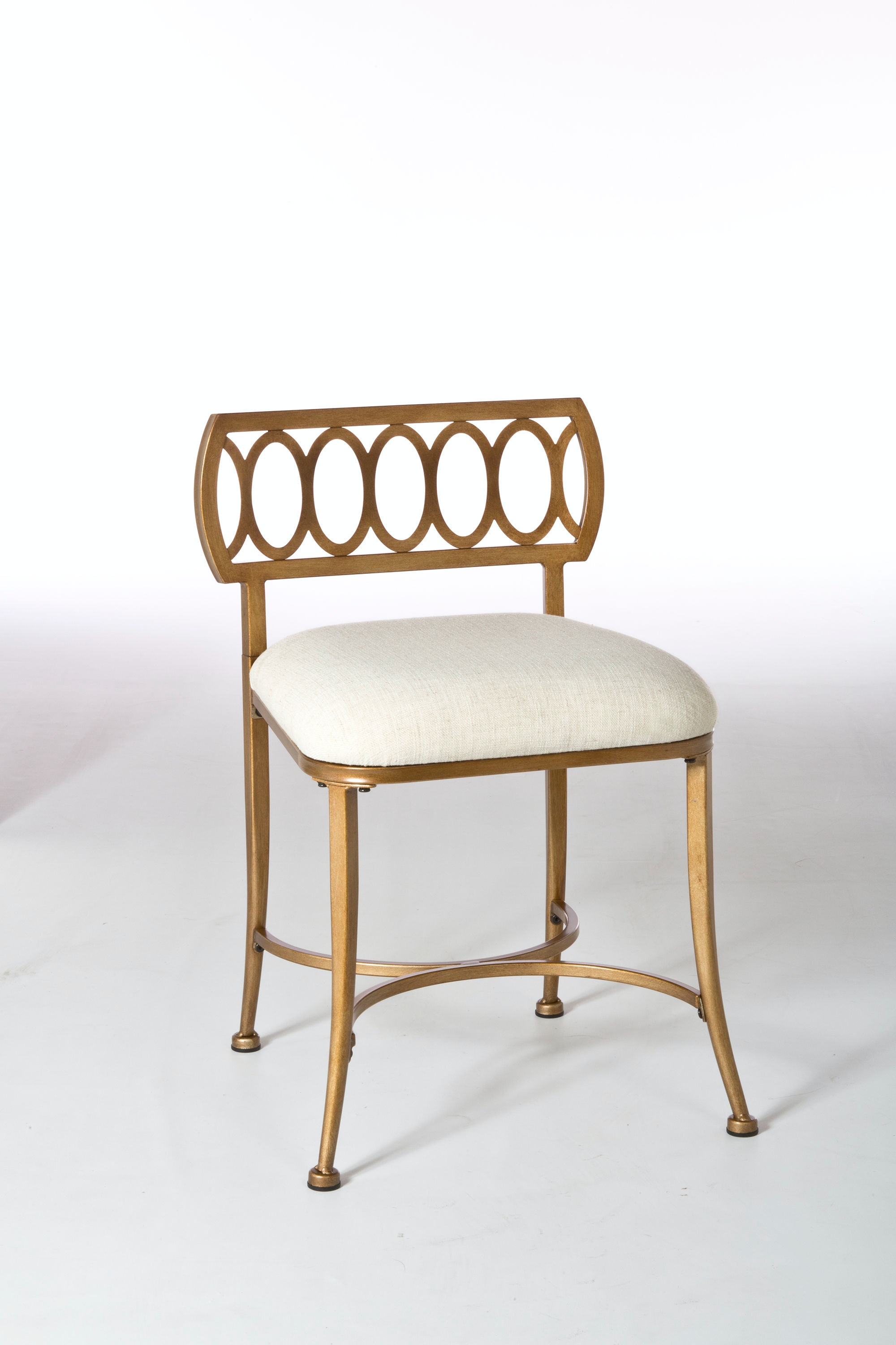 hickory chair vanity stool toddler high activities hillsdale furniture bedroom canal street