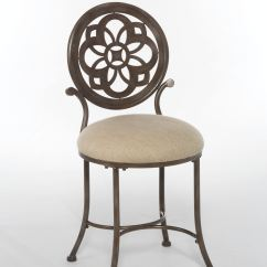 Hickory Chair Vanity Stool Rustic Dining Room Chairs Hillsdale Furniture Bedroom Marsala 50981