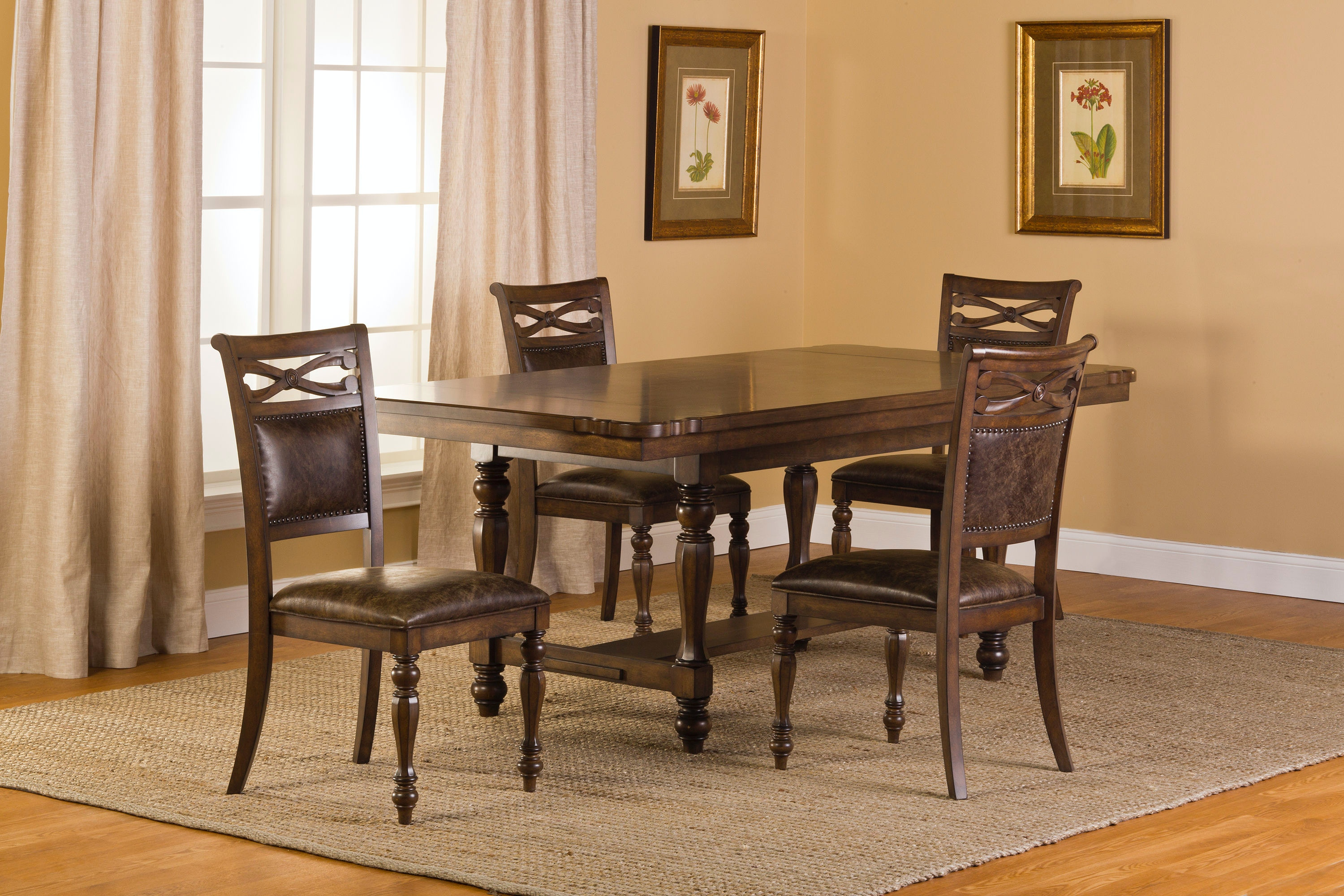 springs for dining chairs space saving table and hillsdale furniture room seaton