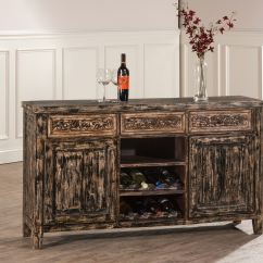Wine Rack In Living Room Settings Hillsdale Furniture Florent Console Table With Removable Racks 5805 872 At Kingdom