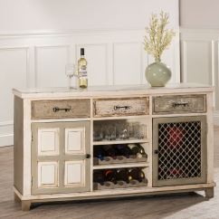 Wine Rack In Living Room Wall Painting Designs For Hillsdale Furniture Larose 2 Door Console Table With Removable