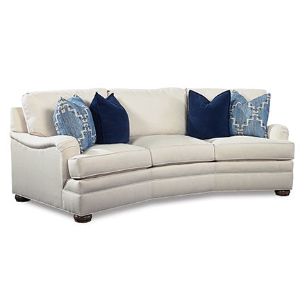 wedge table for sectional sofa fabric chaise bed huntington house living room 2061 28 maynard