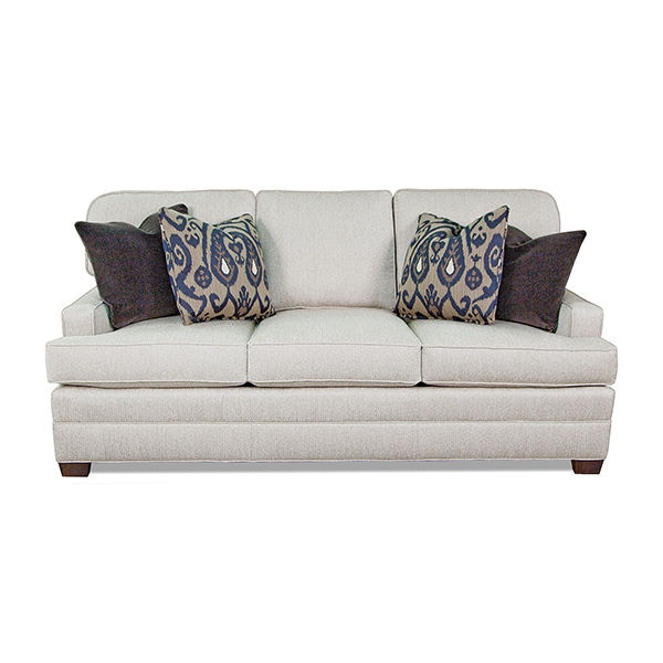 tomas fabric sofa chaise convertible bed dark java baker archetype price walter e smithe living room s