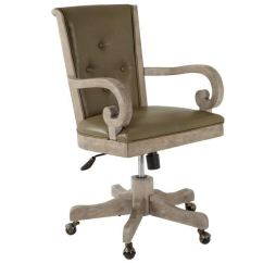Swivel Upholstered Chairs Desk Chair With Arms No Wheels Magnussen Home Living Room Fully H4646 83
