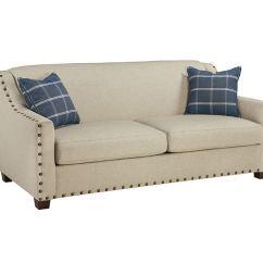 Overnight Sofa Retailers Dark Grey Living Room Queen Sleeper 10350 Seaside