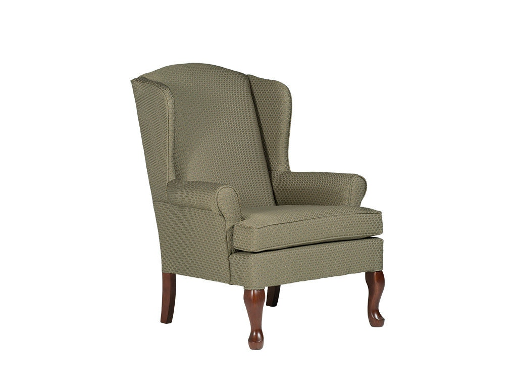 Queen Anne Wingback Chair Best Home Furnishings Living Room Queen Anne Wing Chair