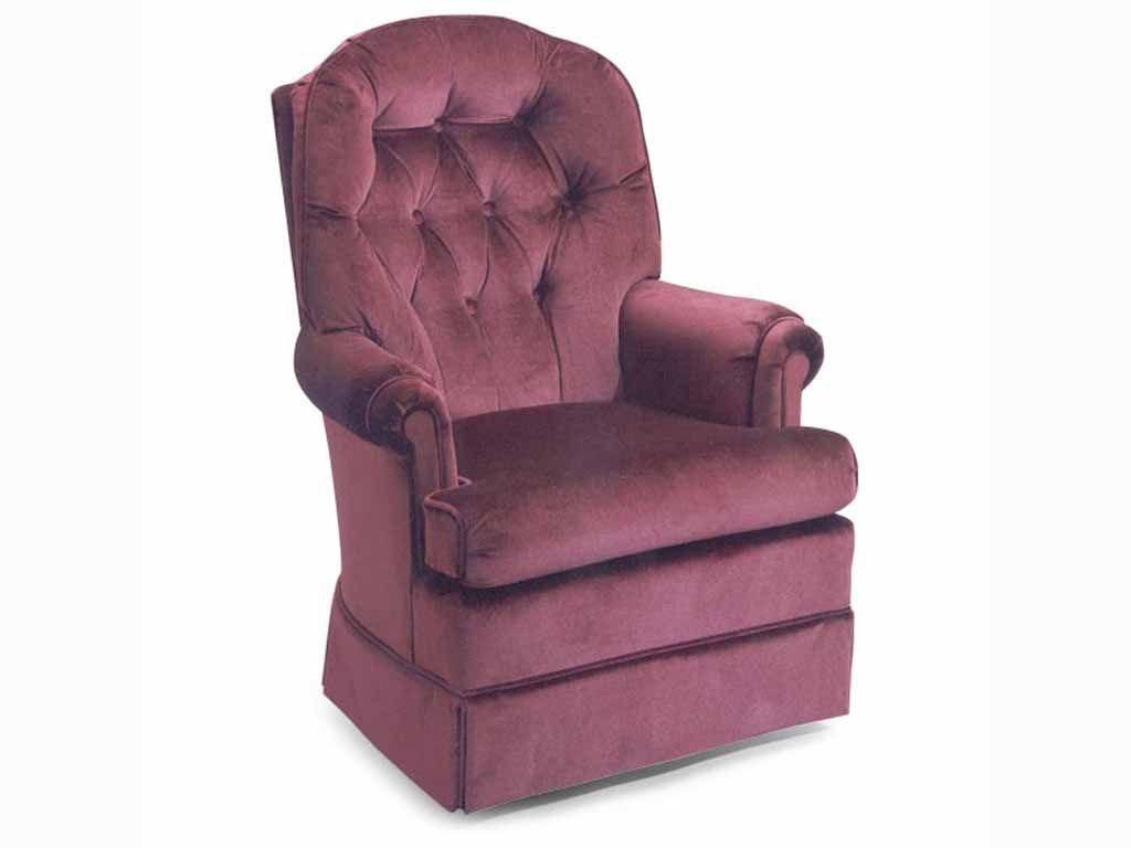 Best Home Furnishings Living Room Swivel Rocker 5439