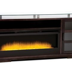 Home Entertainment Fireplace Living Room Furniture Sets With Cup Holders Buhler Milano Credenza 75700 At Cozy Inc