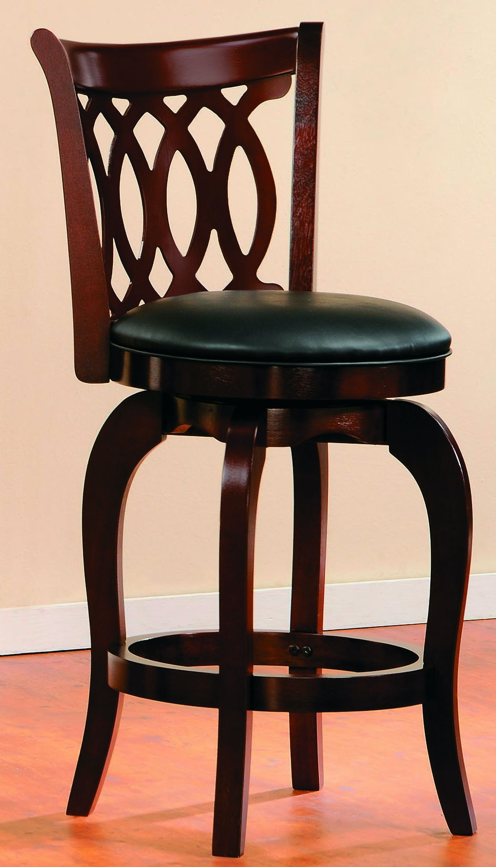 game room chair georgia company homelegance bar and swivel center 1133 24s